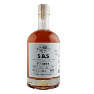 SBS FIJI 2002 RUM SOUTH PACIFIC ROM 57,1% 70cl (240 bottles)