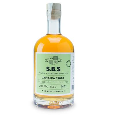 SBS JAMAICA 2000 HAMPDEN DIST 58,9% 70cl (202 bottles)