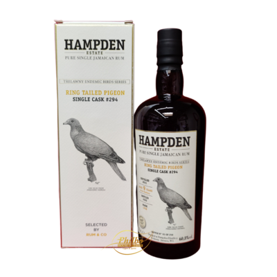 HAMPDEN Endemic Birds Series LFCH 2011 Single Cask 9 Year Old #294  60,8%  70cl