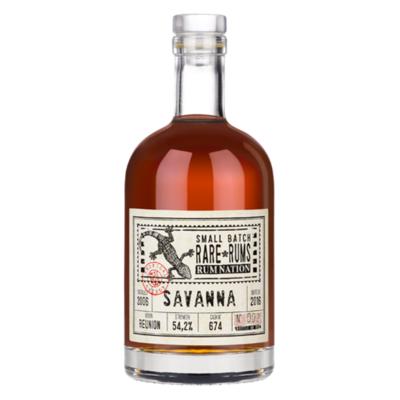 Rum Nation - Rare rums - Savanna - 2006/2016 - 54,2% - 70cl