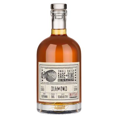 Rum Nation - Rare rums - Diamond SXG - 2003/2018 - 56,8% - 70cl