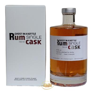 Rum Ghost in a bottle - 58% - cask strength - Embouteillé exclusivement pour Philbo - Seulement 24 bouteilles numérotées