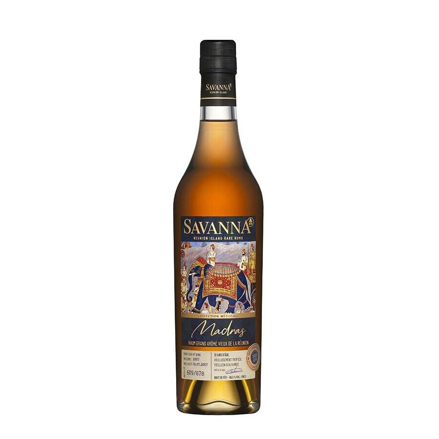 Savanna Métissage Madras Grand Arôme Chai Humide 14yo C#496, 50 cl - 60,3°
