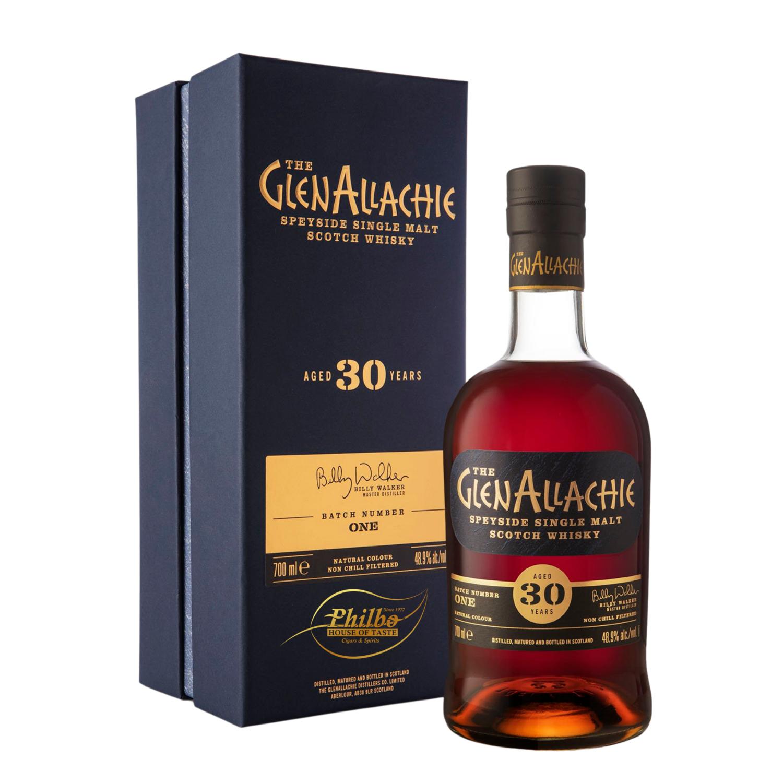 GlenAllachie 30-year-old Cask Strength single malt 48,9%   70cl