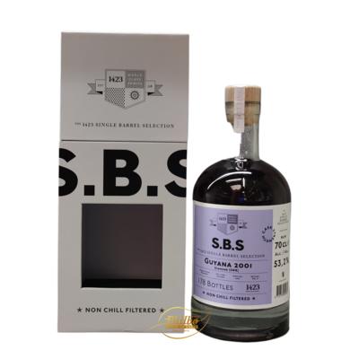 SBS Guyana 2001 Skeldon SWR 19 year old 53,2% 70cl  only 178 bottles