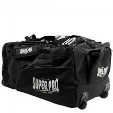 SUPER PRO COMBAT GEAR TROLLEY BLACK/WHITE