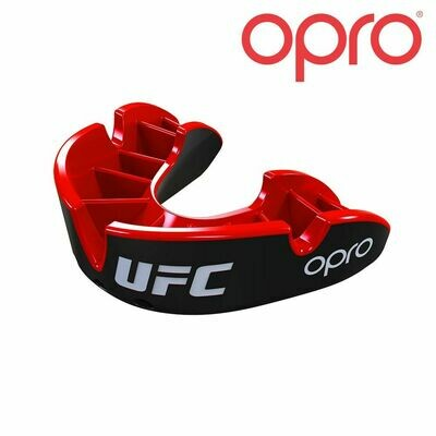 OPRO SILVER BLACK/RED