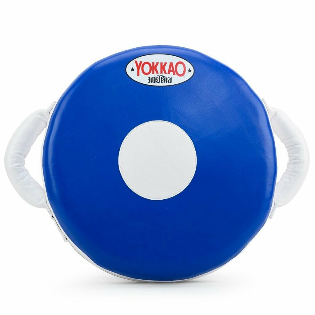 ROUND PUNCHING PAD BLUE/WHITE