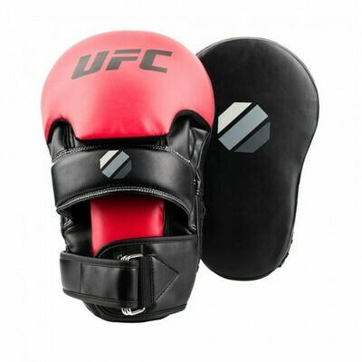 UFC CONTENDER LONG CURVED FOCUS HANDPADS BLACK/RED