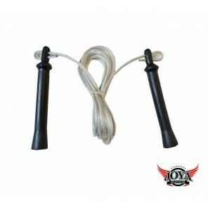 STEEL JUMP ROPE - PLASTIC HANDLES