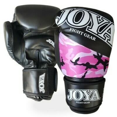 JOYA 'TOP ONE' KICKBOKSHANDSCHOEN CAMO ROZE