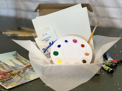 New! Watercolor Kit