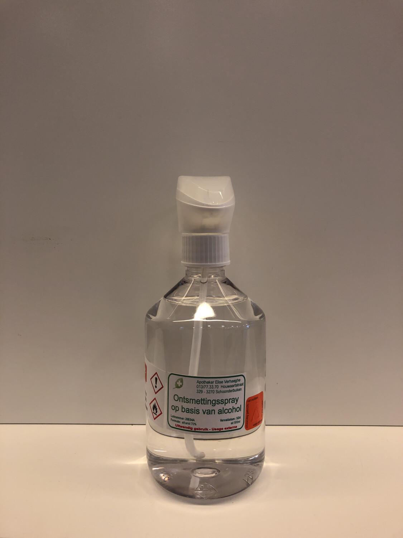 ONTSMETTINGSALCOHOL 70° Spray 500ml