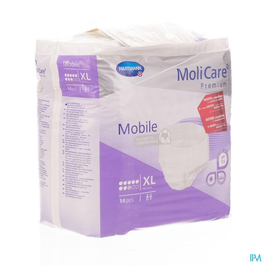 MOLICARE PR MOBILE 8 DROPS XL 14 P/S