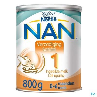 NAN VERZADIGING-SATIETE 1 PDR 800G