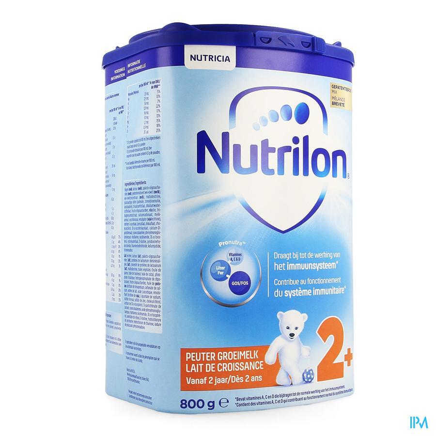 NUTRILON PEUTER GROEIMELK +2JAAR NF EAZYPACK 800G