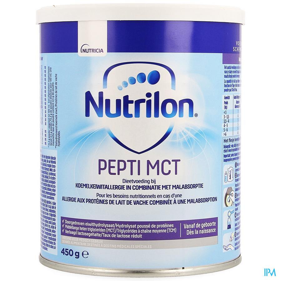 NUTRILON PEPTI MCT PDR BLIK 450G