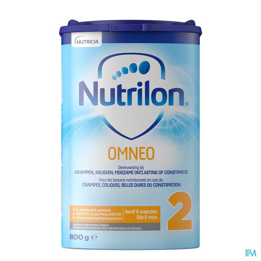 NUTRILON OMNEO 2 OPVOLGMELK PDR 800G