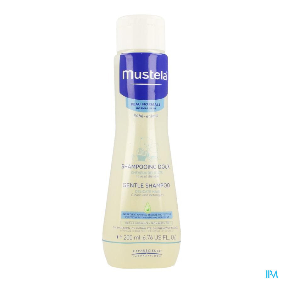 Mustela Pn Shampoo Zacht 200ml