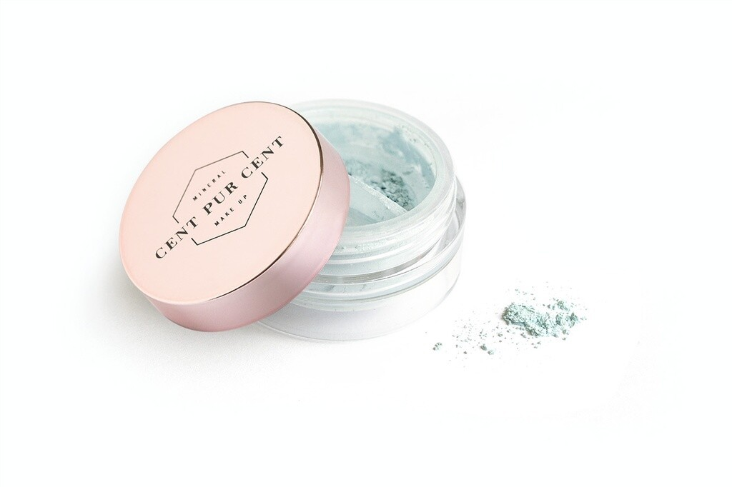 CENT PUR CENT LOSSE MINERALE SHADOW MENTHE      2G