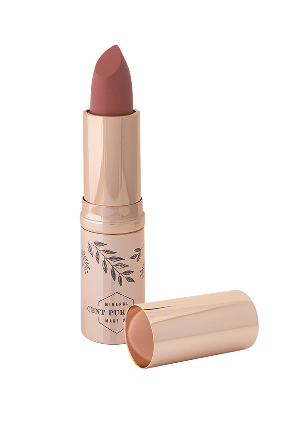 CENT PUR CENT MINERALE LIPSTICK ROSE OR      3,75G