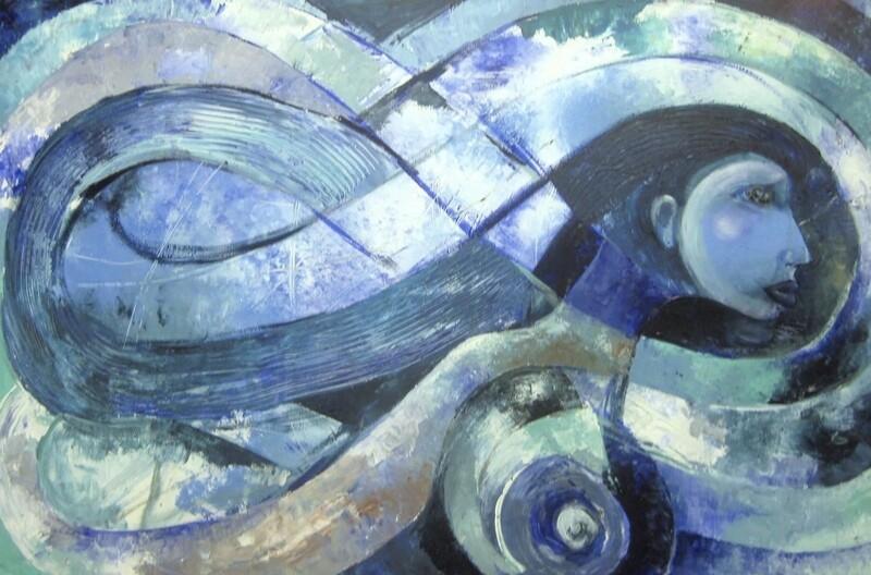 Blue Infinity 1
