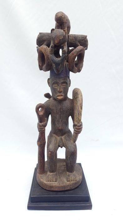 Ikenga male figure