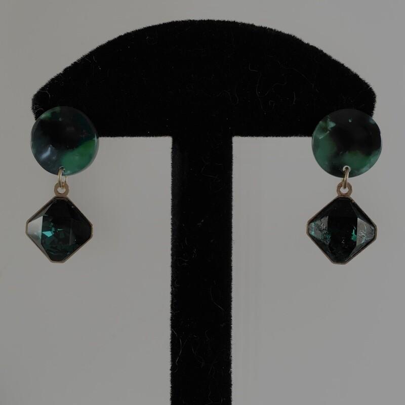Veridian crystal drop