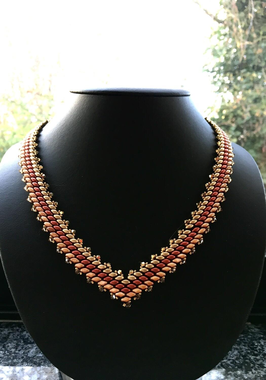 Venitian scarlet Necklace