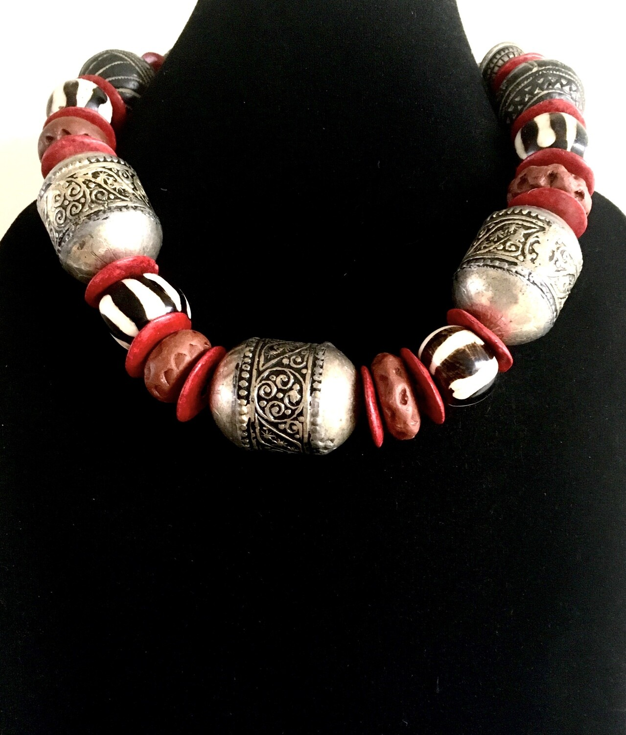 Berber styled necklace