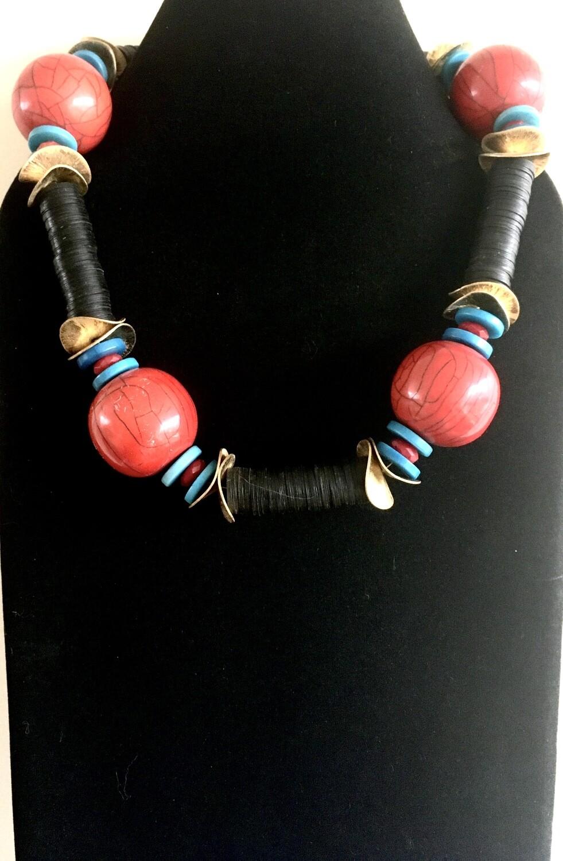 Ngozi bead necklace