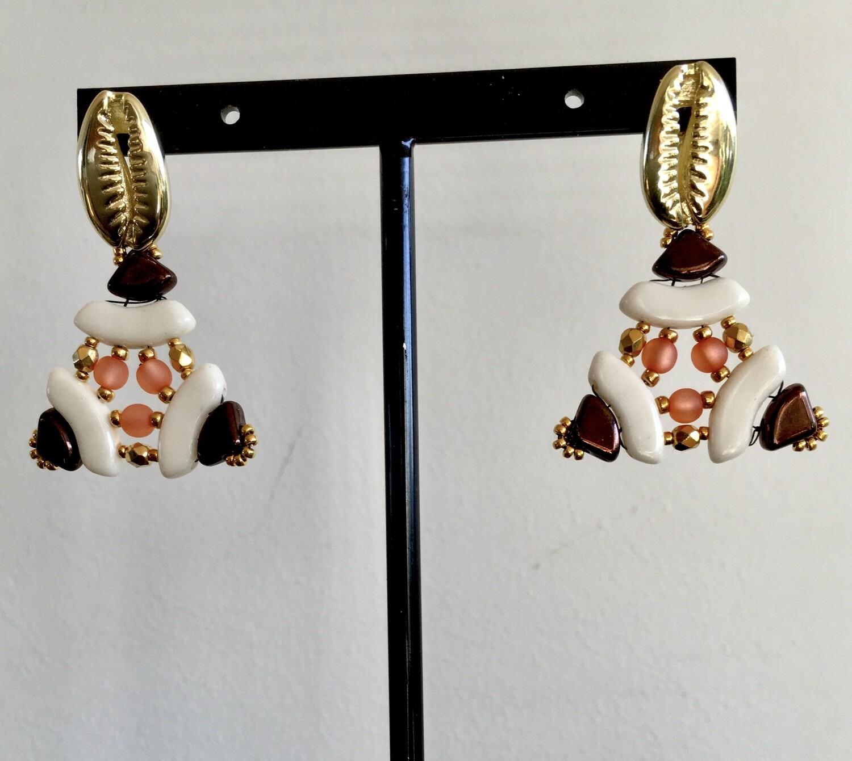 Ndebele chic earrings