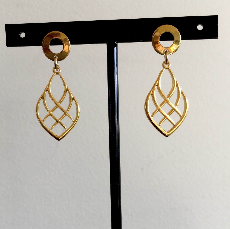Peruvian girl earrings