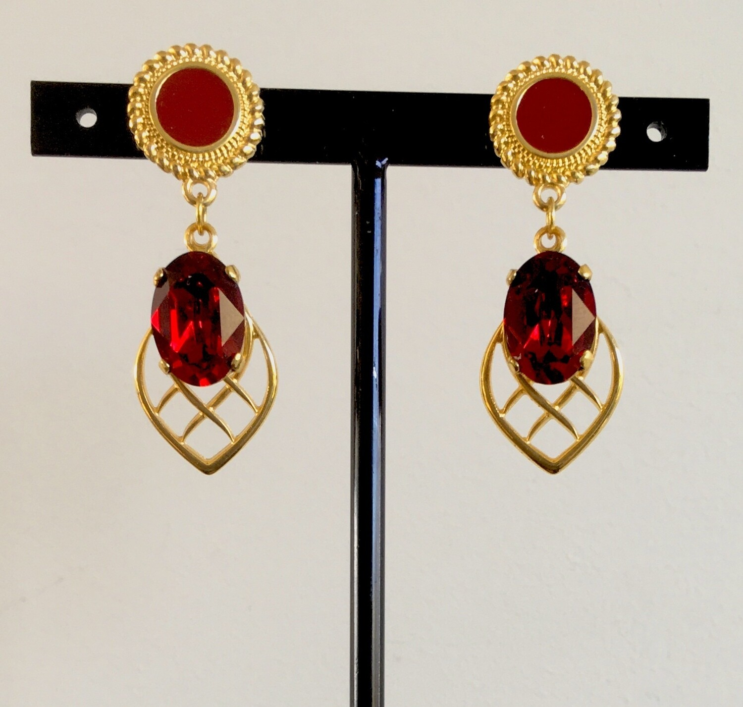 Oriental splendour earrings