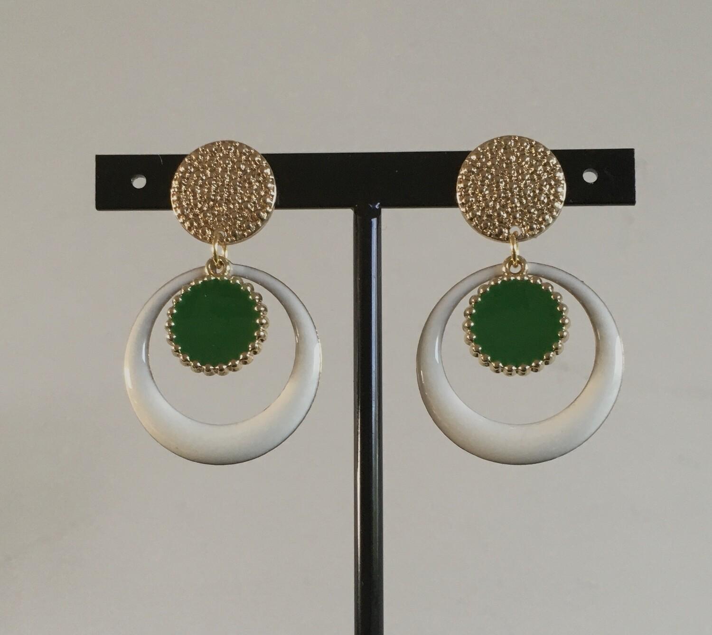 """""""Naija gal"""" earrings"""