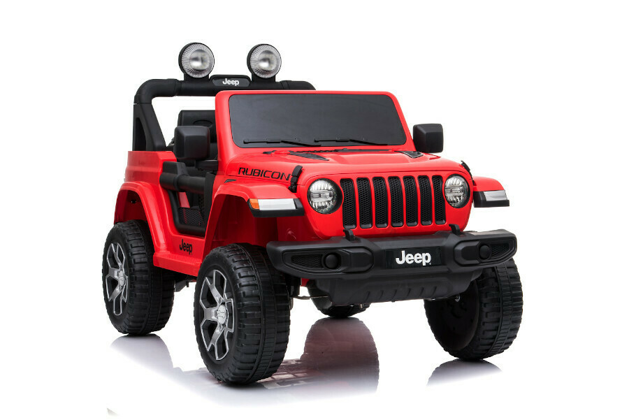 Kinderfahrzeug Elektro Auto Jeep Wrangler Rubicon lizenziert