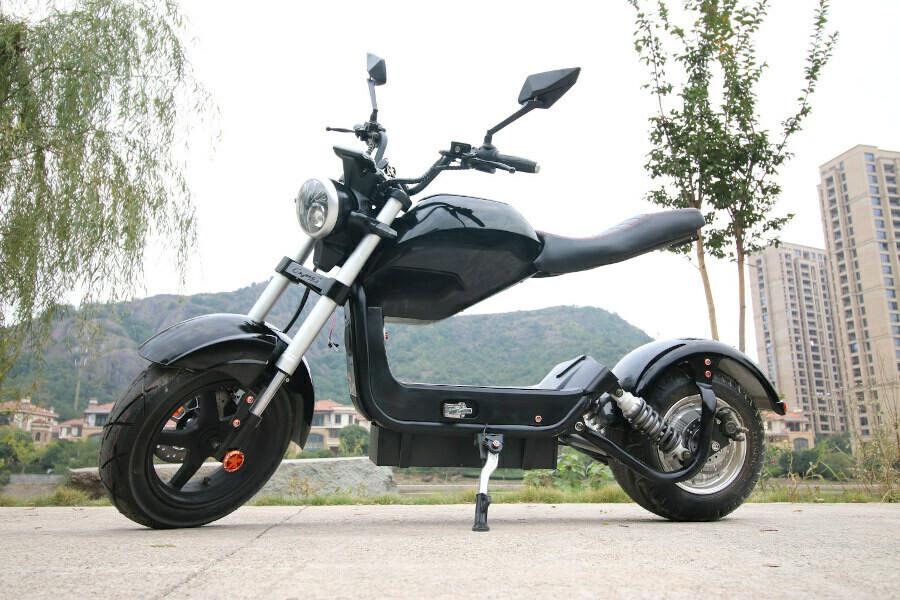E-SCOOTER HEARTBEAT 2 - 1500W 60V 20Ah 45km/h - mit Straßenzulassung Motorrad