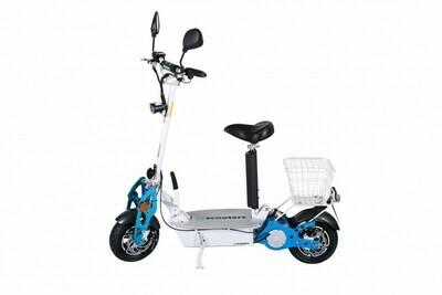 E-scooter - CONQUEROR 2 - 48V 12Ah 1800W 45km/h 25km - mit COC Straßenzulassung