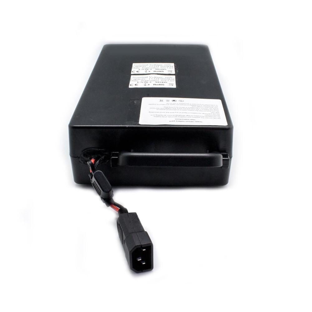 Batterie 60V 18Ah für den Fußraum / for the footwell (Innenraum)