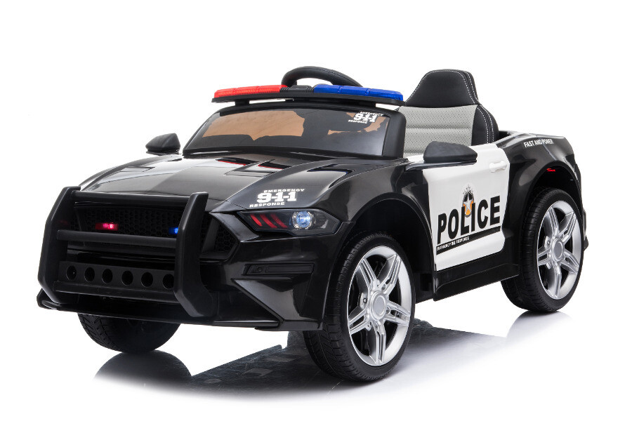 Kinderfahrzeug - Elektro Auto - Polizei Auto 356