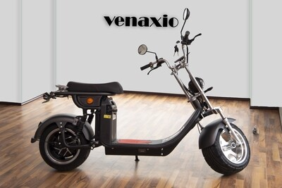 VENAXIO S-640 || 4000W 40AH 60V 45km/h 80km - mit Straßenzulassung EEC