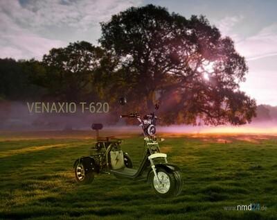 VENAXIO T-620 - 2000W 120/180km Reichweite 40Ah/60Ah 25-45km/h EEC