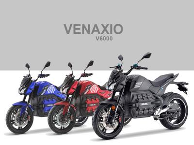 VENAXIO V6000 (ODIN UPDATE) 125E 6000W / 100Ah - bis 210km Reichweite E-Motorrad