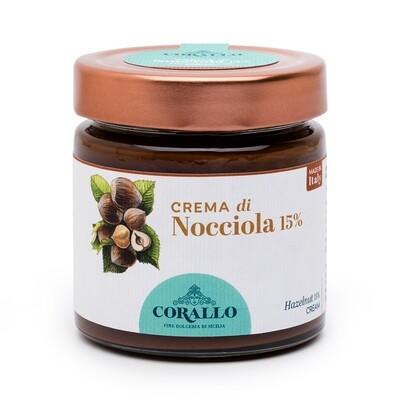 Crema di Nocciola 15%