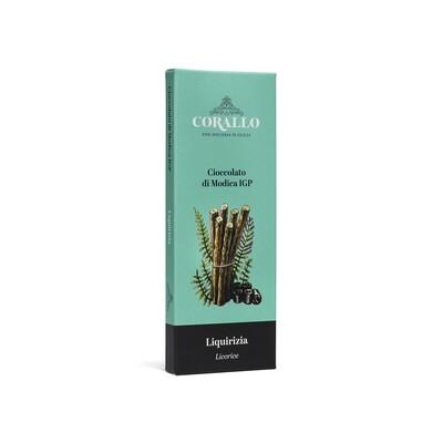 Cioccolato di Modica IGP - Liquirizia