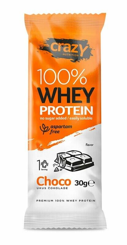 Whey protein - Čokolada - Paket 20 kesica x 30g