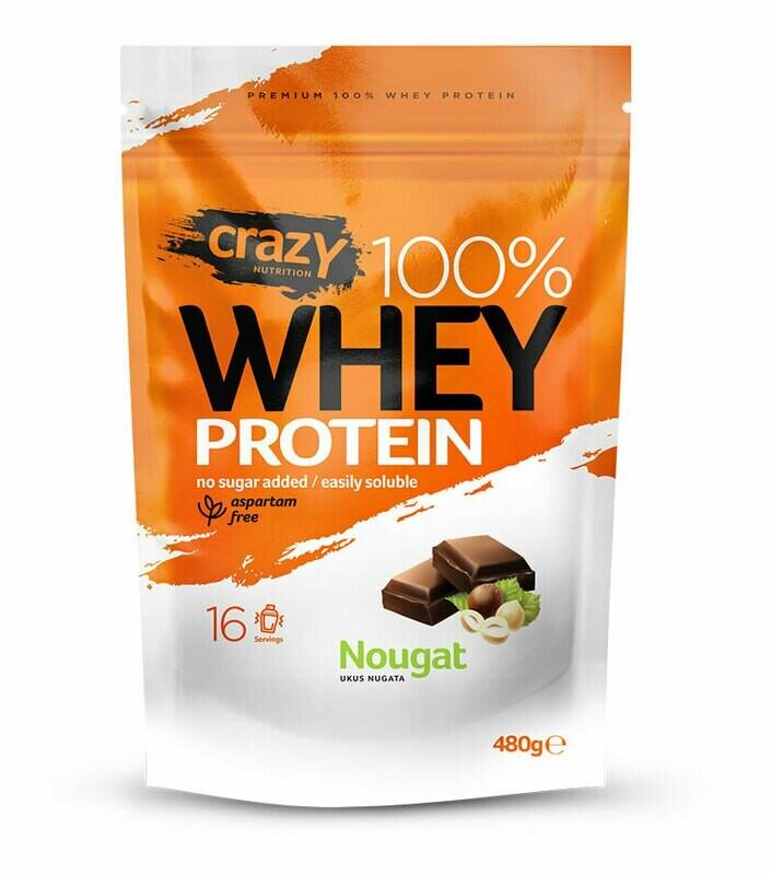 Whey protein 480g - Nougat