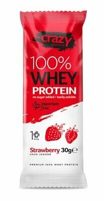Whey protein - Jagoda - Paket 20 kesica x 30g