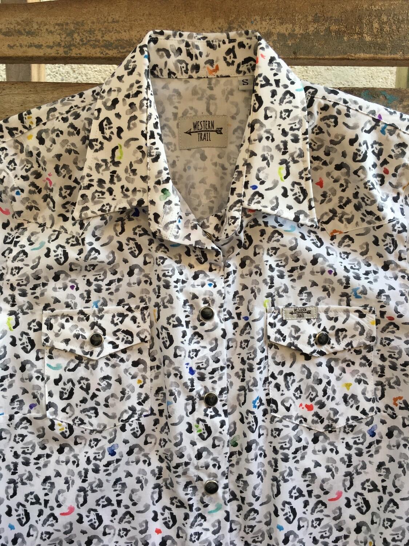 Camicia donna animals