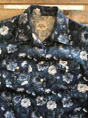 Camicia donna flowers